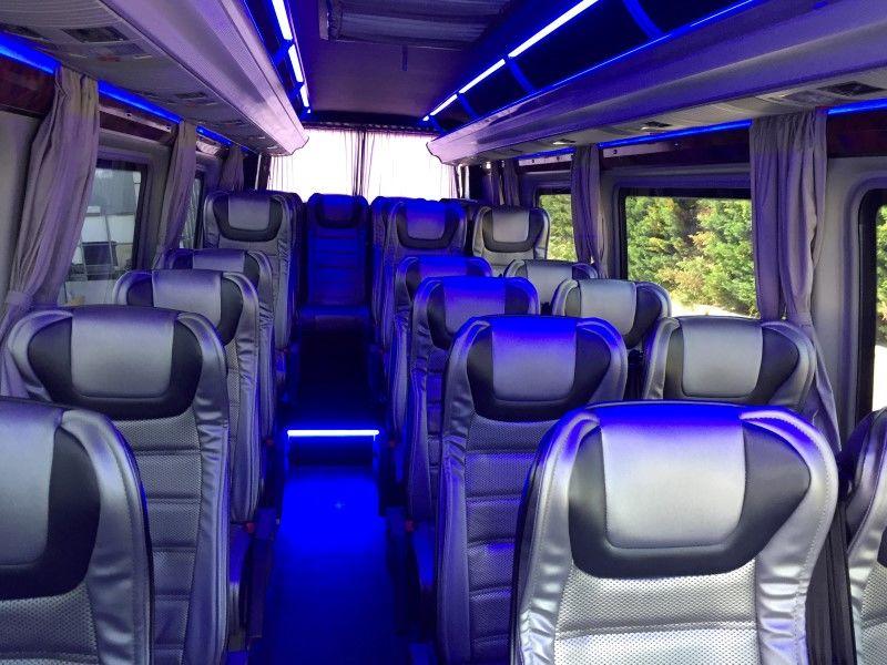 passenger van bus service budapest
