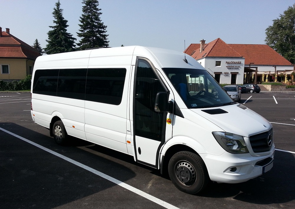Budapest bus rental